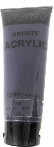 Brustro Artists' Acrylic 120ml Violet