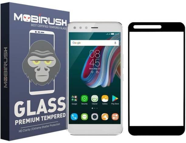 MOBIRUSH Edge To Edge Tempered Glass for Infinix Zero 5 Pro