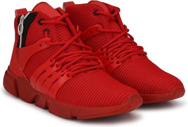 9e6f6d5d777 Wonker Wonker deziner comfortale High Ankle Shoe Running Shoes For Men
