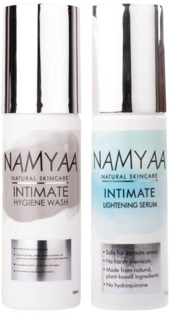 Namyaa Intimate care therapy(Intimate lightening serum 100gm+Intimate Wash-with tea tree oil 100gm) Intimate Wash