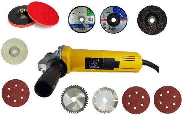 INDITRUST DIVINE 4 inch 850W angle grinder machine with multiple accessories Grinding Machine Metal Polisher Metal And Stone Cutting,Sanding Polishing Angle Grinder
