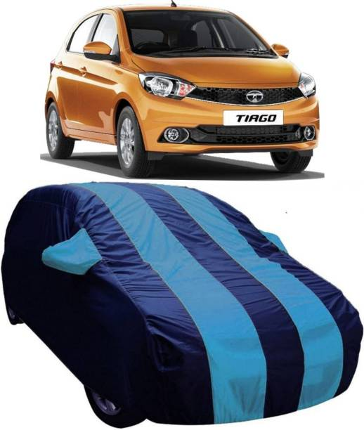 AUCTIMO Car Cover For Tata Tiago (With Mirror Pockets)