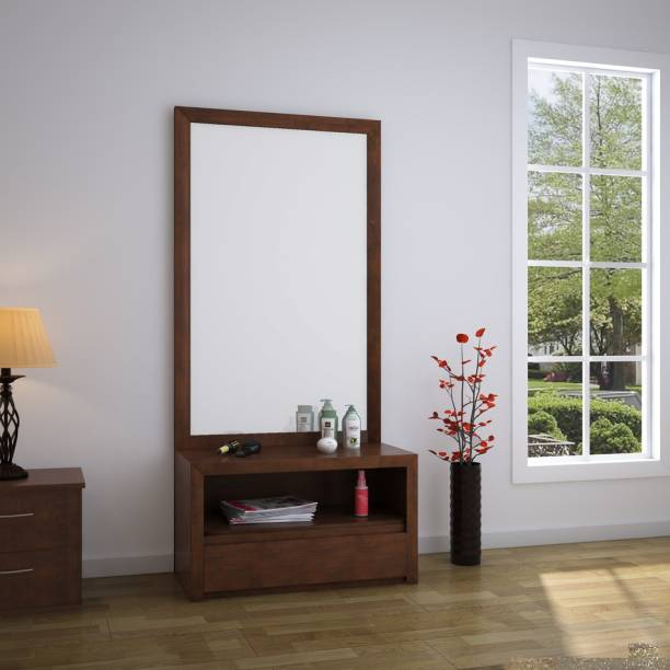 @Home by nilkamal Lincoln Solid Wood Dressing Table