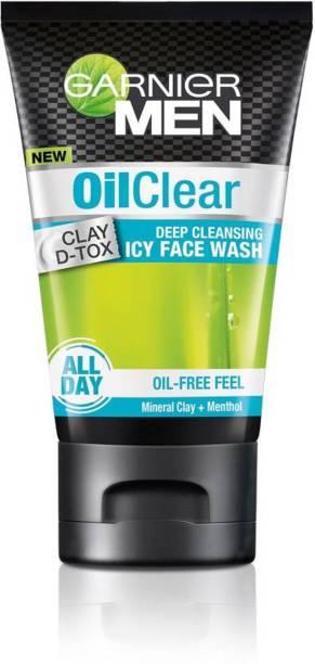 GARNIER MEN Men Oil Clear deep cleansing Face wash100gm Face Wash