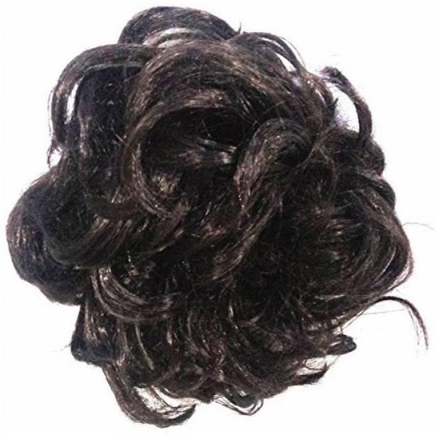 Shining Angel Beautiful Hair Bun Clutcher For Women and Girls, 1 Black Hair Accessory Set