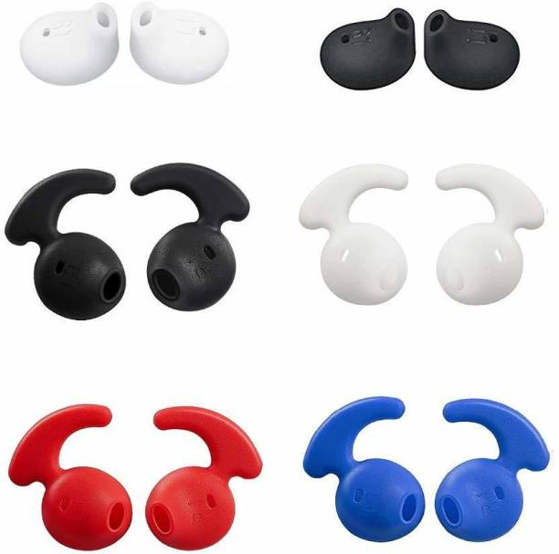 YTM 12 Pcs (6 Pair)Replacement Silicone Eartips Covers Gels Buds Hooks In The Ear Headphone Cushion
