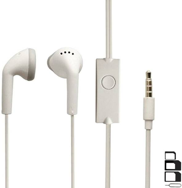 GoSale Headphone Accessory Combo for Xiaomi Poco F1, Moto X4, LG G5, LG Q Stylus, OnePlus 5, Sony Xperia XA1 Ultra, Nokia 6.1 (Nokia 6 2018), LG V30 Plus, Sony Xperia XZ Premium, Nubia Red Magic, Honor 8, Sony Xperia L2, Xiaomi Mi5, Razer Phone, HOMTOM HT70, Samsung Galaxy A7 2017 Earphones Original Like Headsets In-Ear Headphones Wired Stereo Bass Head Earbuds Hands-free With Mic, 3.5mm Jack