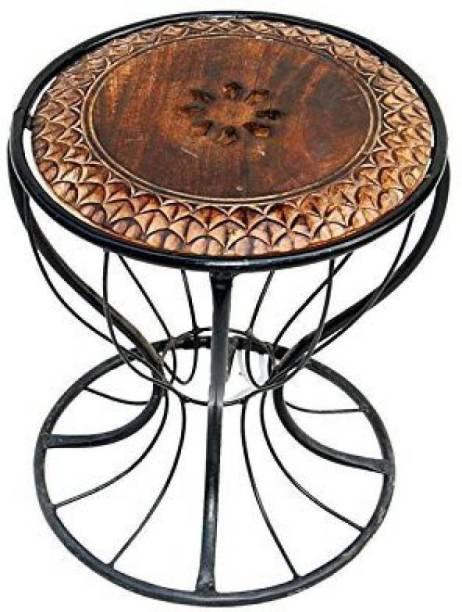 Extreme wood living room stool Living & Bedroom Stool (Black) Living & Bedroom Stool