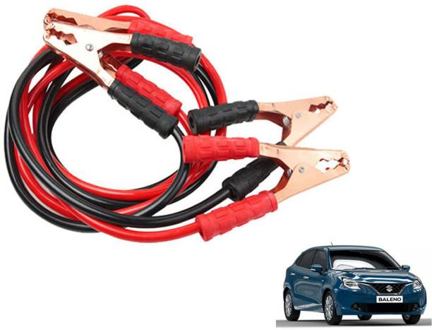 Stela Car Heavy Duty Jumper Cable Leads Battery Booster 500 Amp RY012 7.5 ft Battery Jumper Cable