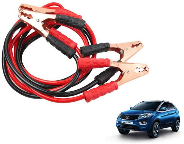 Roy Imaging Car Heavy Duty Jumper Cable Leads Battery Booster 500 Amp RY020 7.5 ft Battery Jumper Cable