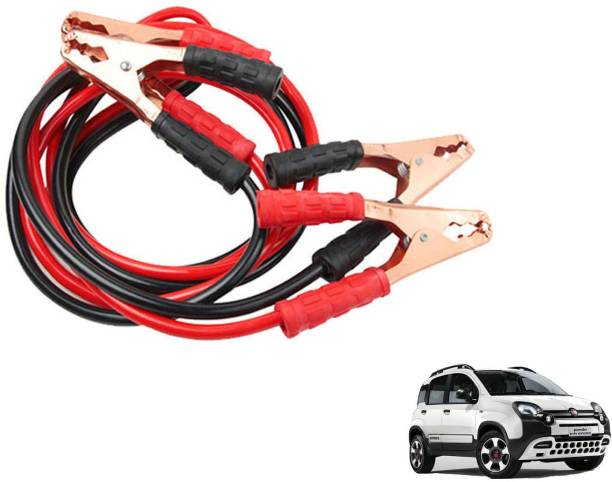 Roy Imaging Car Heavy Duty Jumper Cable Leads Battery Booster 500 Amp RY005 7.5 ft Battery Jumper Cable