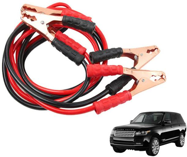 Roy Imaging Car Heavy Duty Jumper Cable Leads Battery Booster 500 Amp RY016 7.5 ft Battery Jumper Cable