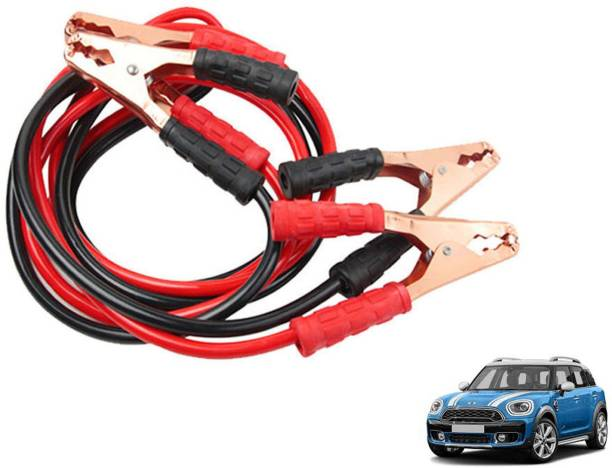 Roy Imaging Car Heavy Duty Jumper Cable Leads Battery Booster 500 Amp RY014 7.5 ft Battery Jumper Cable