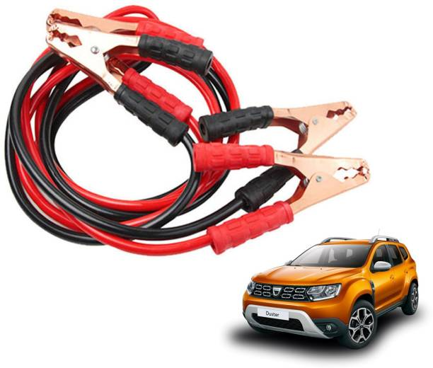 Roy Imaging Car Heavy Duty Jumper Cable Leads Battery Booster 500 Amp RY017 7.5 ft Battery Jumper Cable
