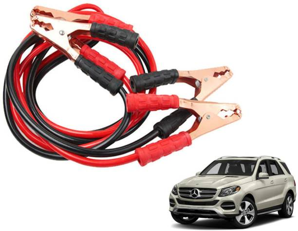 Roy Imaging Car Heavy Duty Jumper Cable Leads Battery Booster 500 Amp RY013 7.5 ft Battery Jumper Cable