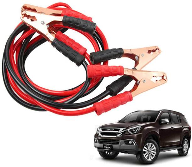 Stela Car Heavy Duty Jumper Cable Leads Battery Booster 500 Amp RY008 7.5 ft Battery Jumper Cable