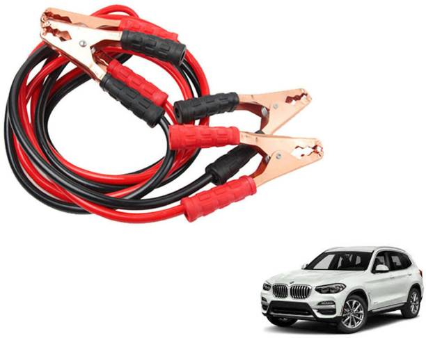 Roy Imaging Car Heavy Duty Jumper Cable Leads Battery Booster 500 Amp RY002 7.5 ft Battery Jumper Cable