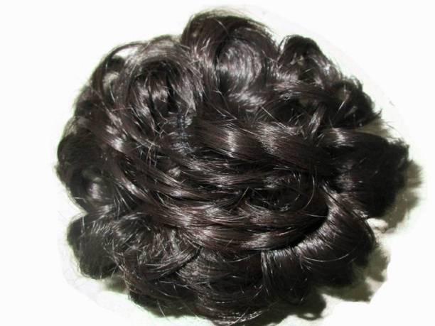 CRIBE Natural Black Rafal Juda Bun Fashion Hair Extension