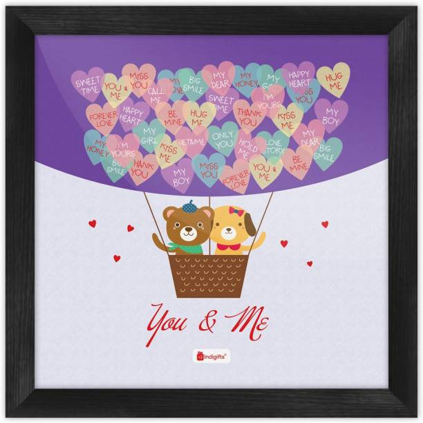 Valentine Day Gifts for Lover, Couple Gift, Romantic Gift for Girlfriend, Husband, Wife, Birthday_S-PSFSWBK01SQ08-HIS16009 Paper Print