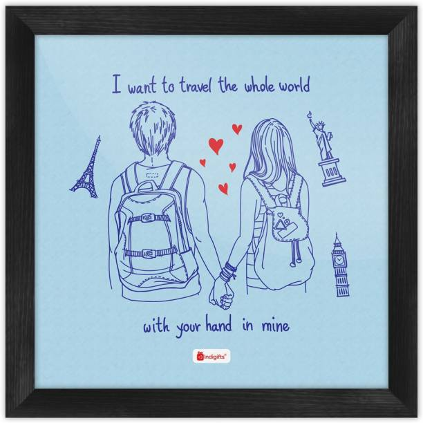 Valentine Day Gifts, Romantic Gift for Girlfriend, Husband, Wife, Birthday, Anniversary, Engagement_S-PSFSWBK01SQ08-HIS16007 Paper Print