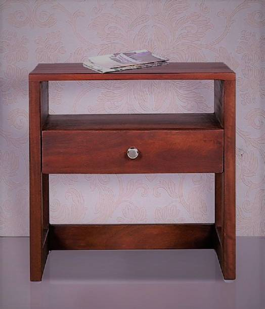 pipercrafts PIPER-BST-1085 Solid Wood Bedside Table