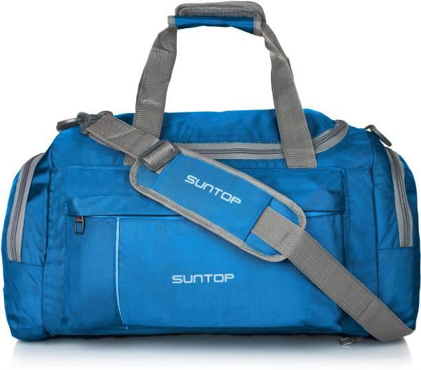 20566f413745 Suntop Alive Nylon 40 Ltr Turquoise Blue Travel Duffles Travel Duffel Bag