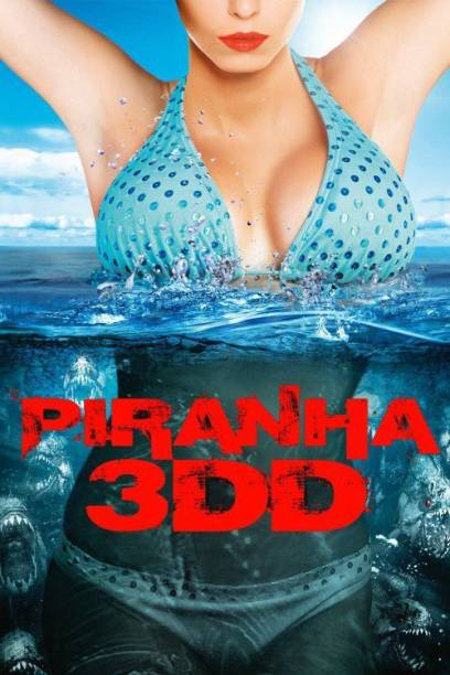 Piranha 3DD in dual Audio Hindi and English it's burn DATA DVD play only in computer & Laptop it's not original without poster