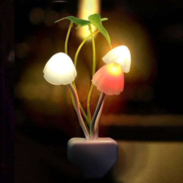 Vbhretail MUSHROOM NIGHT LIGHT HOME DECOR LIGHTING IN STAR ROOM MULTICOLOR Table Lamp