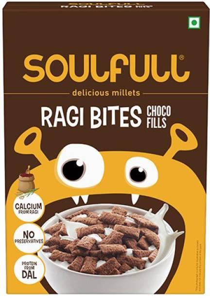 SOULFULL Choco Fills Flavoured Ragi Bites