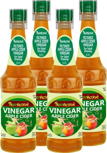 NutrActive Filtered Apple Cider, 100% Natural Vinegar