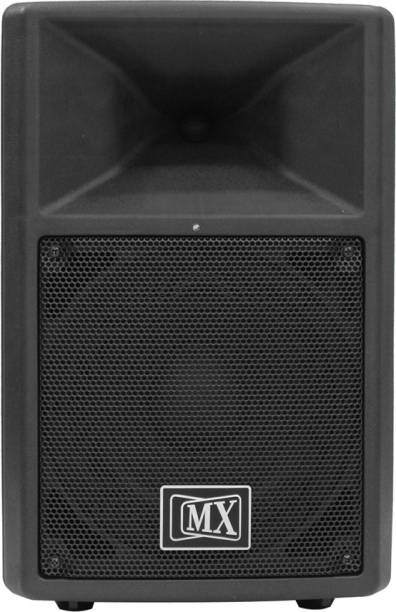 MX SMX 410A Premium 10 inches Active Powered 2-Way PA Speaker Plastic Body Indoor, Outdoor PA System