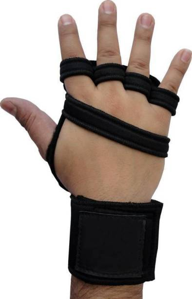 DreamPalace India GYM GLOVES | Sport Gloves | Fitness Gloves | Palm Support | Wrist Support Gym & Fitness Gloves