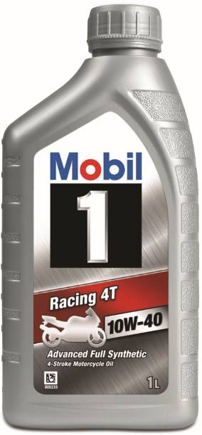 MOBIL 1 Racing 4T 10W-40 Advanced Full Synthetic Full-Synthetic Engine Oil