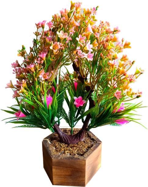 Kaykon Artificial Flower Bonsai Plant For Home Decoration