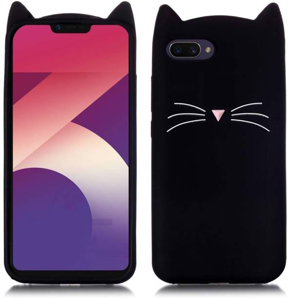 Unirock Back Cover for OPPO A3s (Purple, 32 GB) (3 GB RAM)