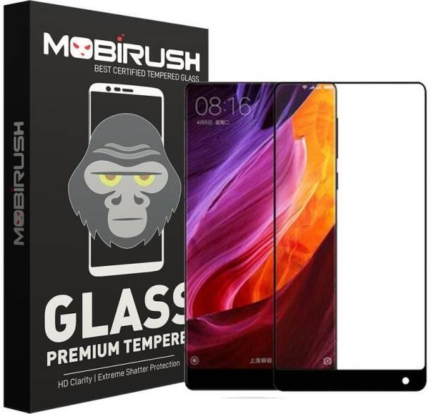 MOBIRUSH Edge To Edge Tempered Glass for Xiaomi Mi Mix 2S