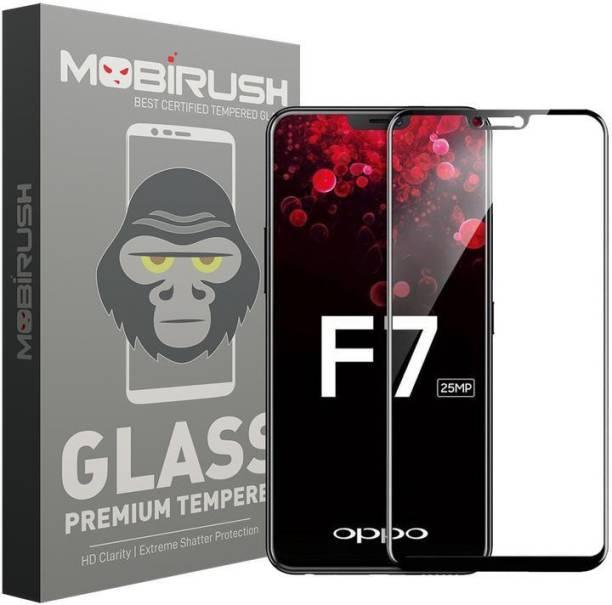 MOBIRUSH Edge To Edge Tempered Glass for OPPO F7