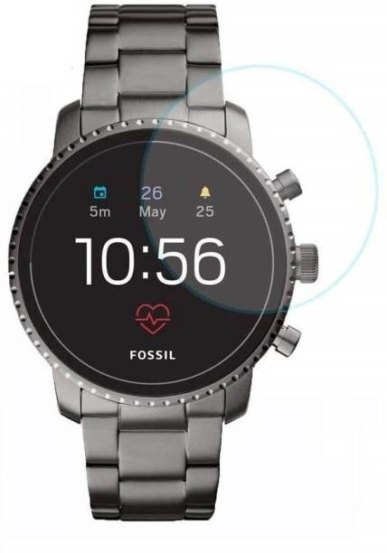 Koko Tempered Glass Guard for Fossil Q Explorist HR (Gen 4)