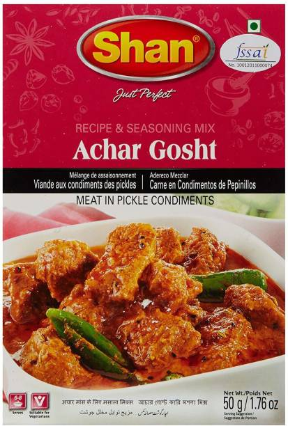 SHAN Achar Gosht masala (Pack of 6 Pcs/ Delivery charge Rs 100 included)