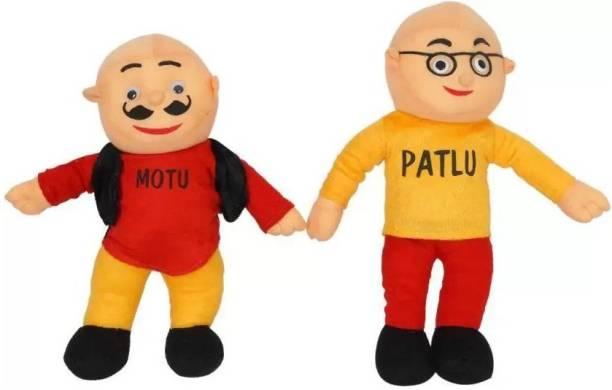 Balaji Motu Patlu Soft Plush Toy Premium Quality  - 33 cm