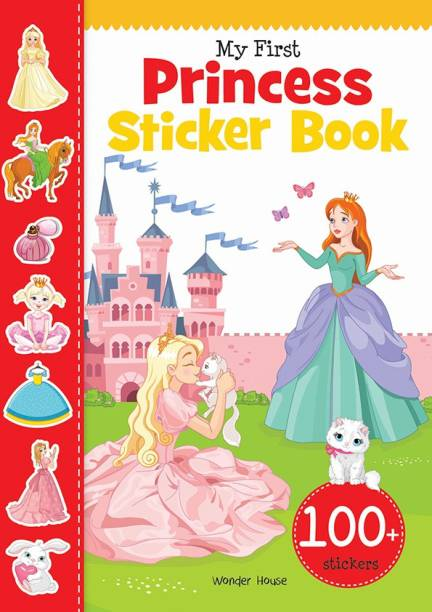 My First Princess Sticker Book - By Miss & Chief
