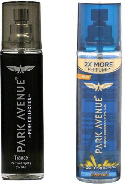PARK AVENUE Trance and Good Morning Electric Deodorant Spray  -  For Men & Women