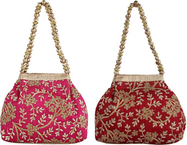 Potli Bags - Buy Potlis for Women and Men Online at Best Prices in ... 59c5b4e4df2b9