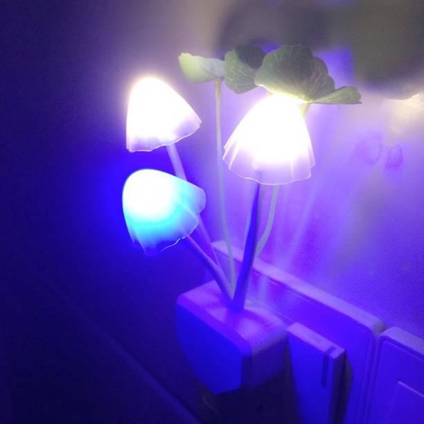 Vbhretail MUSHROOM NIGHT LIGHT HOME DECOR LIGHTING IN STAR ROOM MULTICOLOR Night Lamp