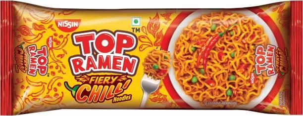 TOP RAMEN Fiery Chilli Instant Noodles Vegetarian