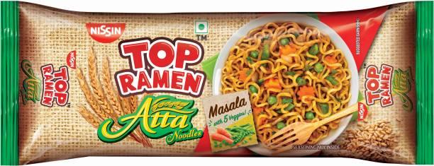 TOP RAMEN Atta Instant Noodles Vegetarian
