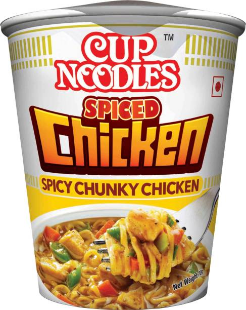 Nissin Spiced Chicken Cup Noodles Non-vegetarian