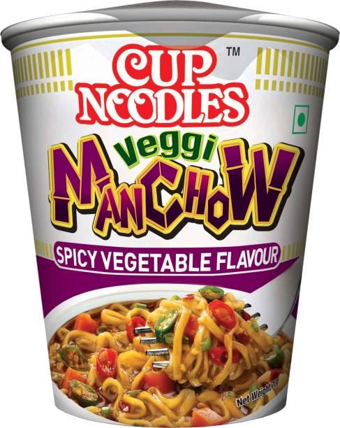 Nissin Veggie Manchow Cup Noodles Vegetarian