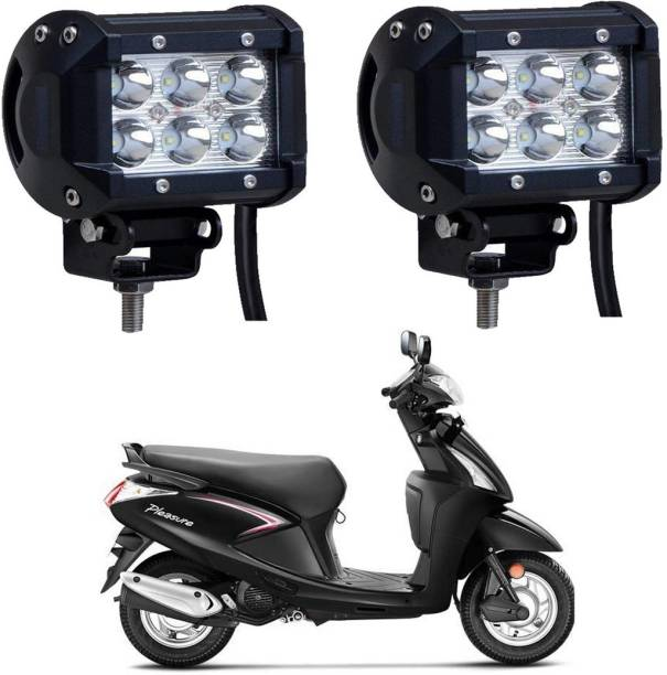 Riderscart a6 Headlight, Fog Lamp Motorbike LED for Hero (12 V, 18 W)