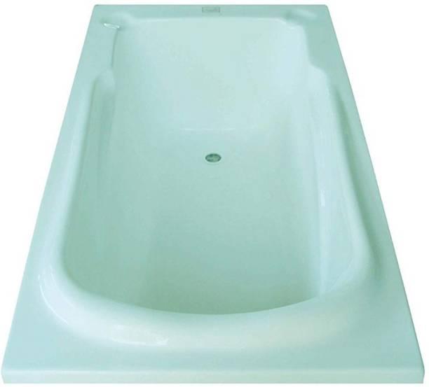 MADONNA DIVFIXCYA112 Divine Acrylic 5.5 feet Rectangular Bathtub - Cyan Blue Undermount Bathtub